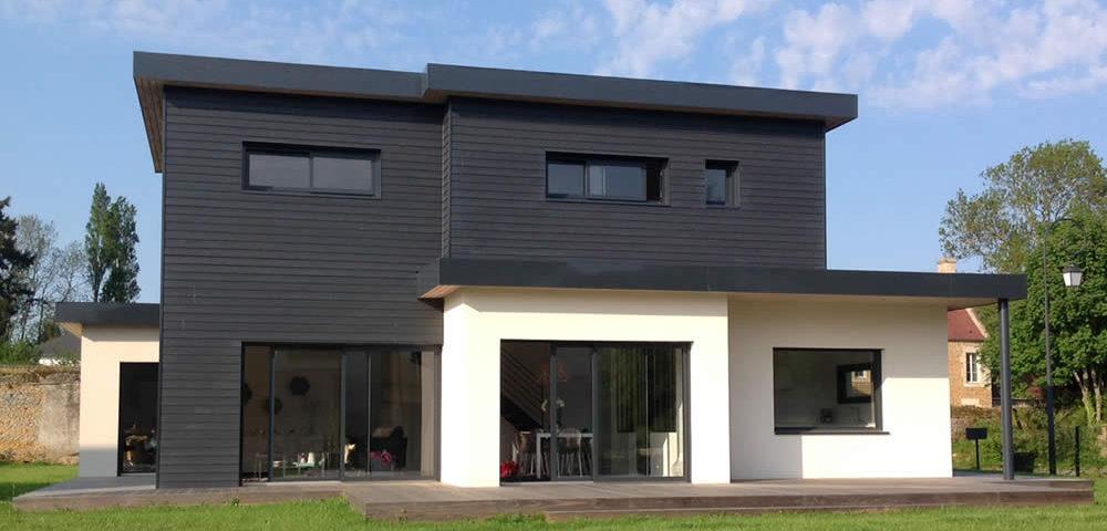 Réalisation maison contemporaine | Constructeur CCMI | Maisons ACADIE