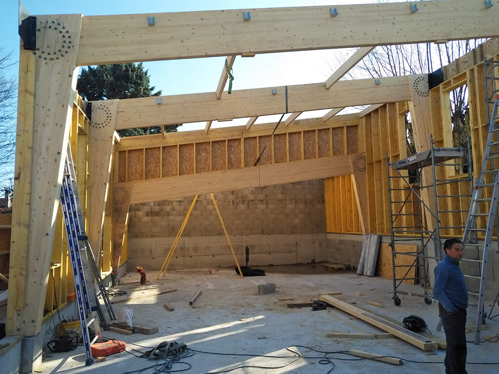 Maisons Acadie_construction_gymnase_à_Décines