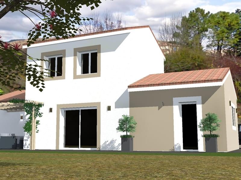 Exemple projet maison individuelle à moins de 200 000€ terrain + maison Tournon