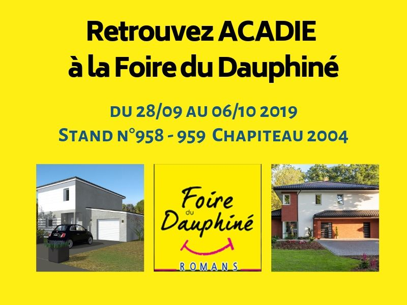 Acadie constructeur maison