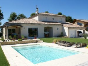 ACADIE-constructeur maison valence-maison traditionnelle provençale-terrasse