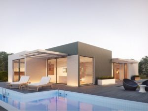 MAISONS ACADIE-constructeur maison romans-maison moderne toit plat