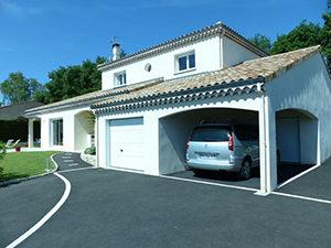 maison provencale blanche-constructeur maison drome-maison acadie