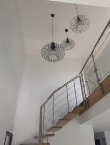 constructeur maison romans sur isere-luminaire escalier moderne