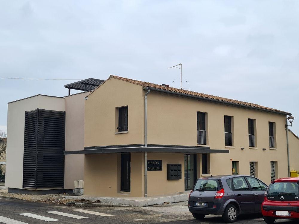 Acadie Valence - Réalisations -Cabinet médical - batiment tertiaire & collectif - alixan - Drôme