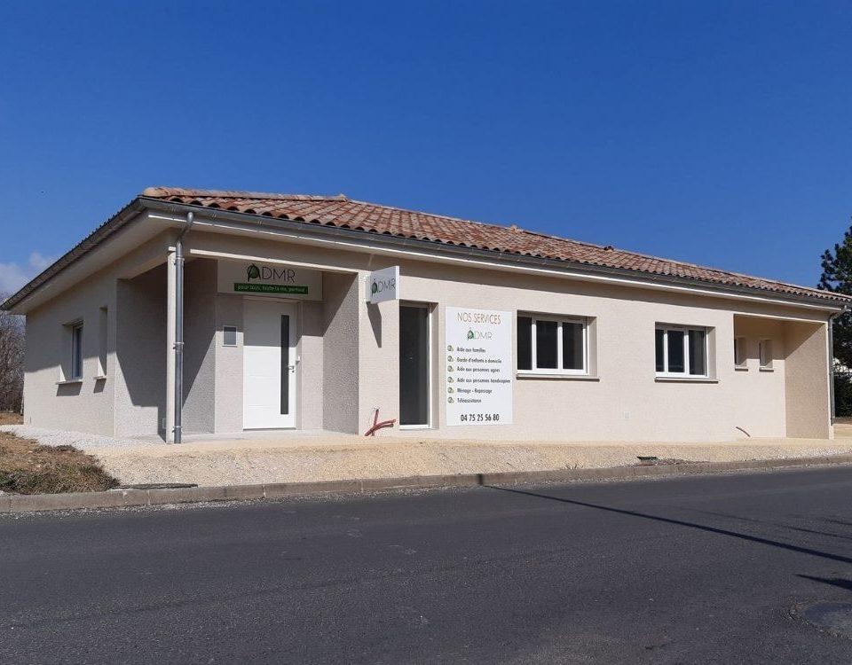 Acadie Valence - Réalisations -Cabinet médical - batiment tertiaire & collectif - Saint Thomas en Royans - Drôme